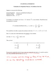 MATH 721 Statistical Inference Notes