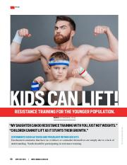 Kids can lift