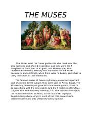 THE MUSES.docx