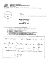 Exam2-PHYS191-Fall2013