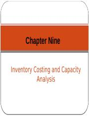 Chapter 9 - Inventory Costing and Capacity Analysis.pptx