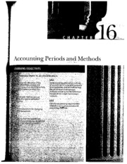 Accounting Periods and Methods_2008 Comprehensive Volume Ch 16