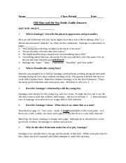 Old Man and the Sea Study Guide Answers (1).docx