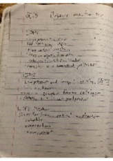 organic mechanisms chemistry notes