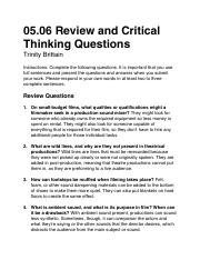 04 06 review and critical thinking Critical thinking company this is one of my top picks the critical thinking co™ 01 march 2016 building thinking skills series see the complete review in 102 top picks for homeschool curriculum.