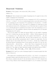 Math 345 Assignment #7