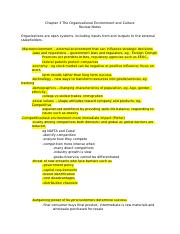Chap+3+The+Organizational+Environment+and+Culture+Review+Notes+_Highlighted_