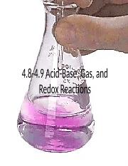 4.8-4.9 Acid Base, Gas Evolution and Redox Reactions