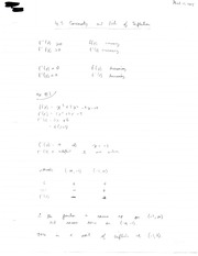 Concavity and Points of Inflection Examples