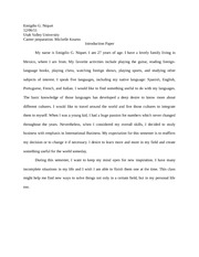 introduction paper
