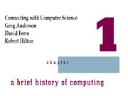 chapter01-A brief history of computing-1