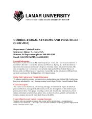 2313 Corrections Systems 10-B Syllabus 2014(2).doc