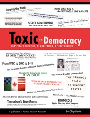 Toxic to Democracy - Midterm essay material