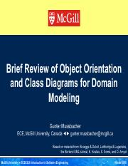 02b 2016-01 ECSE321 Brief Review of OO & Class Diagrams for Domain Modeling (with solutions).pdf