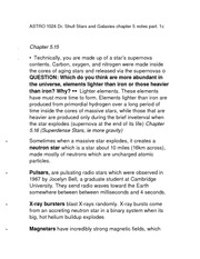ASTRO 1024 Dr. Shull Stars and Galaxies chapter 5 notes part. 1c