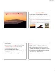 Lecture 3 Volcanic gneous rocks - stratovolcanoes and smaller cones.pdf