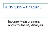 ACCT- InClassPP- chapter 5