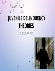 Juvenile Delinquency Theories