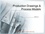 Production Drawings & Process Models
