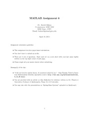 MATLAB_assignment6