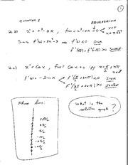 MATH 3F03 Fall 2010 Assignment 1 Solutions