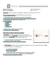 Gizmo - Rock Classification.pdf - Physical Science CP ...