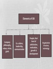 Elements of OB (Presentation)