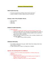 8086074-Overview-of-Child-Health-Nursing-Lecture-Notes-pediatrics
