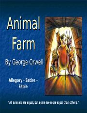 Animal Farm ppt