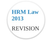 HRM Law Revision 2013