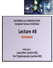 Lecture 8 - Animation.pptx