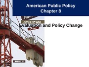 Notes 8 - Policy Evaluation