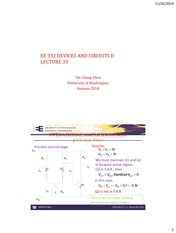 EE 332 Lectures 11-25 2014