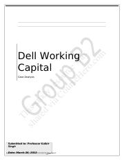 dells working capital