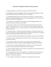Declaration of Independence Questions (1)