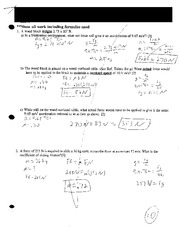 Intro to Newton's Laws Test