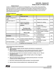 M02 Study Guide and ProblemSet Fall2010