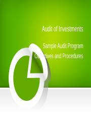 AUDIT OF INVESTMENTS.ppt