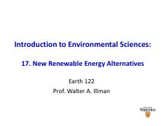 Earth 122 Ch17 notes 2012
