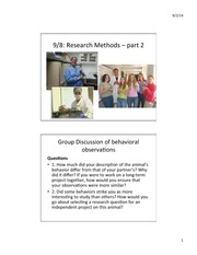 Lecture 3 Research Methods 2