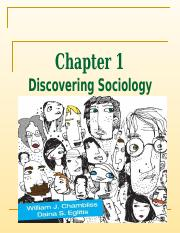 Chapter 1 Discovering Sociology - PPT - Chambliss.ppt