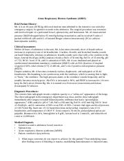 Acute Respiratory Distress Syndrome student Case study.docx
