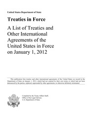 United States International Treaties