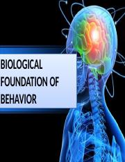 PRELIM - Lesson 5.Biological Basis of Behavior