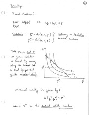 ECON 221 Duality Problem Notes