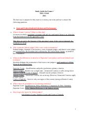 POLS - Study Guide for Exam 2 (WORD).docx