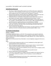 Con Law Outline - Very Good