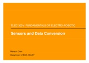 10 - Sensors and Data Conversion