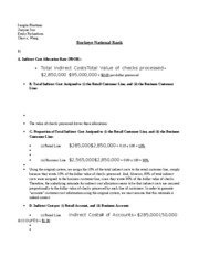 Buckeye National Bank Case 2