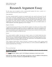 Research Argument Essay_Prompt